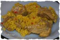 ARROZ CON COSTILLAS A LA TURCA