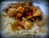 Cuscus con pollo al curry