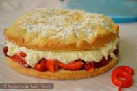Tarta de fresas - Strawberry shortcake
