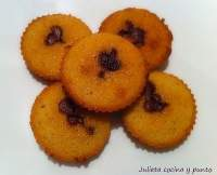 FINANCIERS CON CHOCOLATE