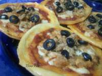 Mini Pizzas de Atún (Thermomix)