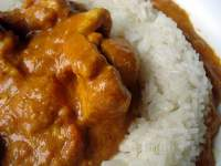 Pollo con Arroz  al Curry Patak's