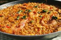 FISH AND SEAFOOD NOODLES PAELLA (FIDEUÀ)