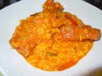 ARROZ CON COSTILLAS(THERMOMIX)
