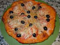 PIZZA VEGETAL CON ANCHOAS(THERMOMIX)
