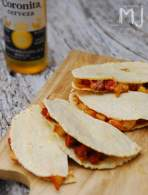 QUESADILLAS MEXICANAS DE CHORIZO Y PAPAS