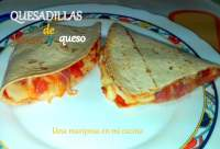 Quesadillas de jamon y queso