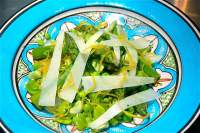 Spring Vegetable Salad, Herbed Ricotta & Pecorino, Candied Lemon