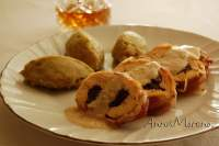 PECHUGAS DE POLLO RELLENAS DE HAGGIS / Chicken Breasts stuffed with Haggis