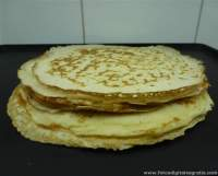 Panqueque o crepe integral