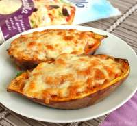 Stuffed sweet potatoes {boniatos rellenos}