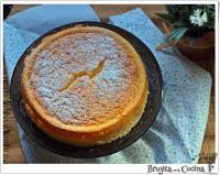 Cheesecake japonesa de 3 ingredientes