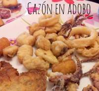 Cazón en Adobo y Tarta Huesitos!!!!