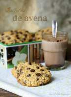 GALLETAS DE AVENA CON CHOCOLATE
