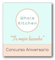Tarta Rocosa. Concurso aniversario Whole Kitchen