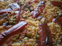 Arroz con Magro y Costillas