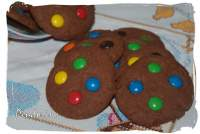 GALLETAS DE CHOCOLATE Y LACASITOS