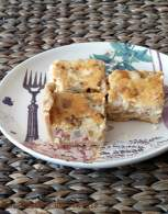 Quiche de Bacon, Pera y Gorgonzola
