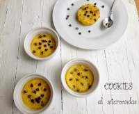 Cookies de Chocolate al Microondas