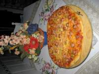 Pizza de beicon