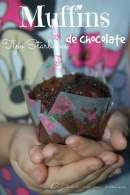 Muffins de chocolate, Tipo Starbucks