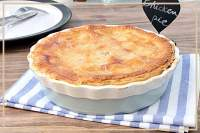Chicken Pie. Pastel de pollo.