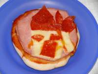mini pizzas infantiles