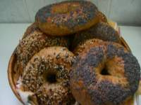 Bagels integrales (libro Whole Grain Breads)
