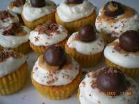 Cupcakes toffee cream