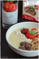 Smoothie bowl y pudin de chia