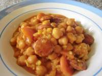 ARROZ Y GARBANZOS