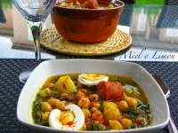 GARBANZOS con ESPINACAS (Light)