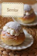 Semlor (Bollitos suecos de cuaresma) para Bake the World