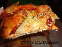 PIZZA INTEGRAL EN PANIFICADORA