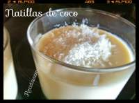 NATILLAS DE COCO