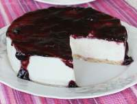 Tarta de yogur (sin horno) {Yogurt cheesecake (no oven)}