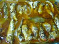 SARDINAS EN ESCABECHE (CHEF-O-MATIC)