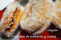Galletas con membrillo y nueves