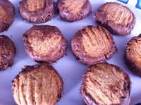 Galletinas de trigo y chocolate