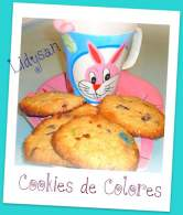 Cookies de lacasitos y avellanas