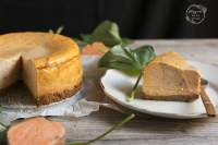 TARTA DE QUESO Y BONIATOS (SWEET POTATO CHEESECAKE)