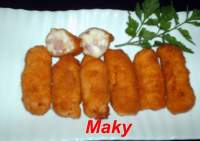 CROQUETAS DE JAMON YORK Y QUESO
