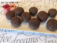 Whoopies de chocolate sin gluten