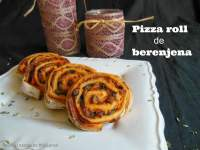 PIZZA ROLL de BERENJENA