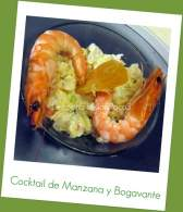 Cocktail de Manzana con Bogavante