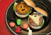 Cheeseburger De Halloween