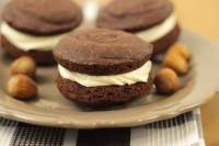 Whoopies de Chocolate y Avellanas