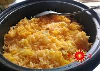 arroz con repollo
