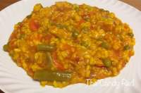 Arroz con menestra de verduras   The Candy Red