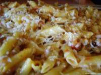 MACARRONES CON TOMATE NATURAL Y CARNE PICADA THERMOMIX
